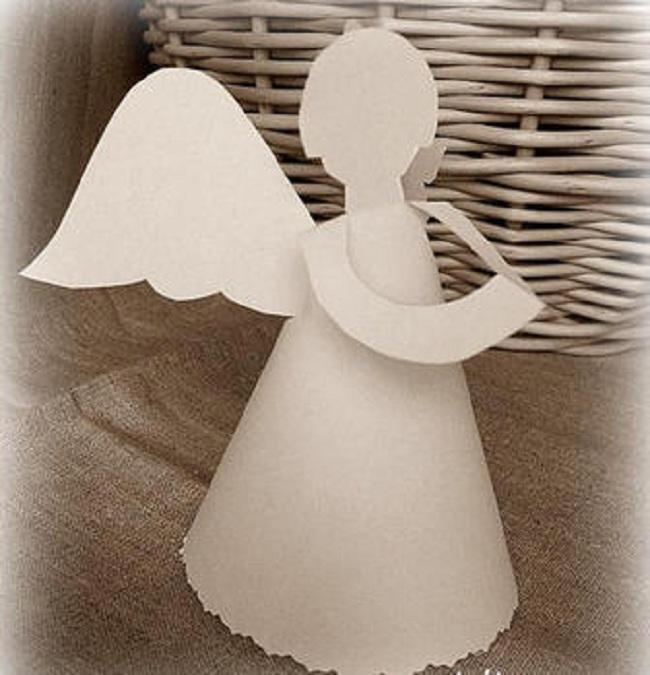 Ангелы бумажные своими руками