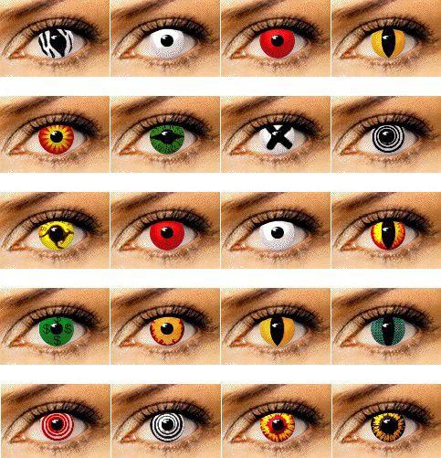Как сделать глаза красными без линз в домашних условиях
