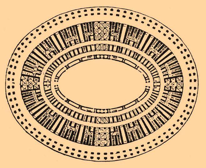 План Колизея