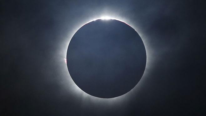 Полное солнечное затмение 21.08.2017