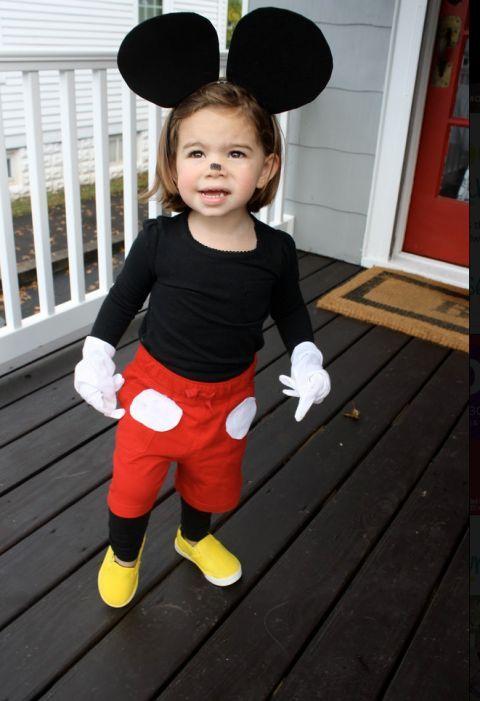 костюм Микки-Мауса своими руками