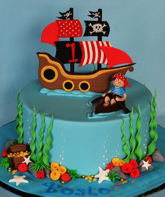 Пиратские торты фото