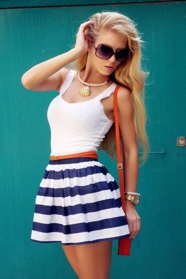Как сшить себе юбку в складку фото фото 762