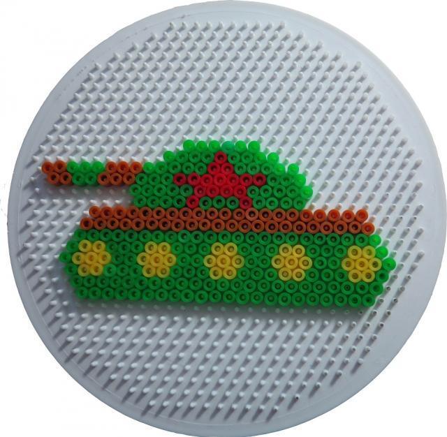 схемы вязания узора танк