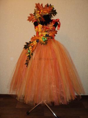 Сделать платье на осенний бал