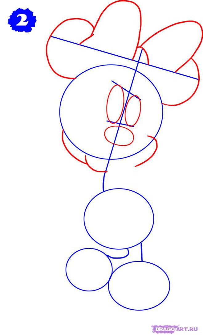 Как нарисовать Герои Мультфильмов поэтапно карандашом