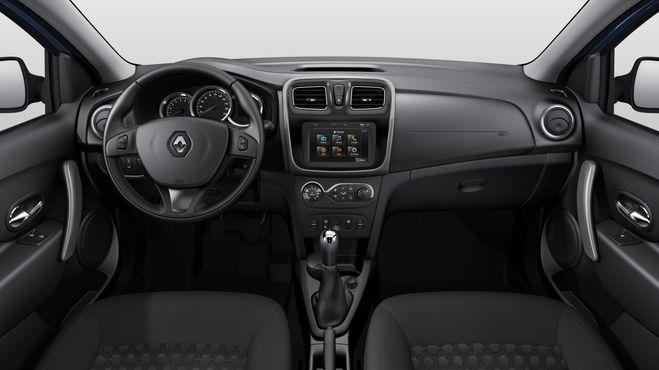 Интерьер Renault Logan New