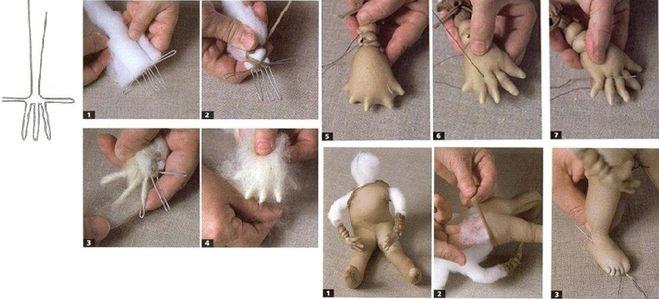 Как делать куклы из капрона своими руками для начинающих 57