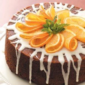 из апельсина торта фото украшение