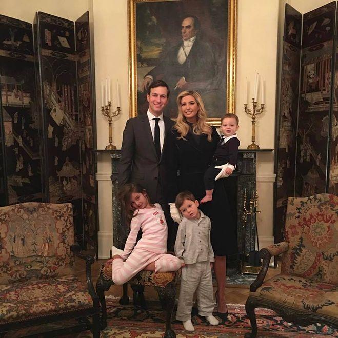 иванка трамп с семьей в белом доме