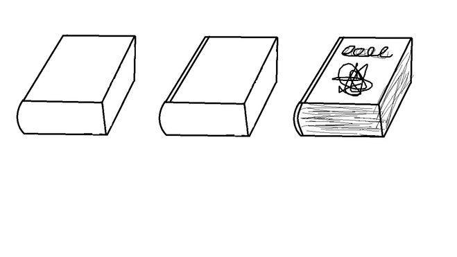 Как нарисовать книги своими руками