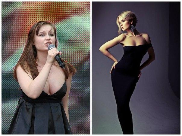 похудевшая гагарина фото до и после