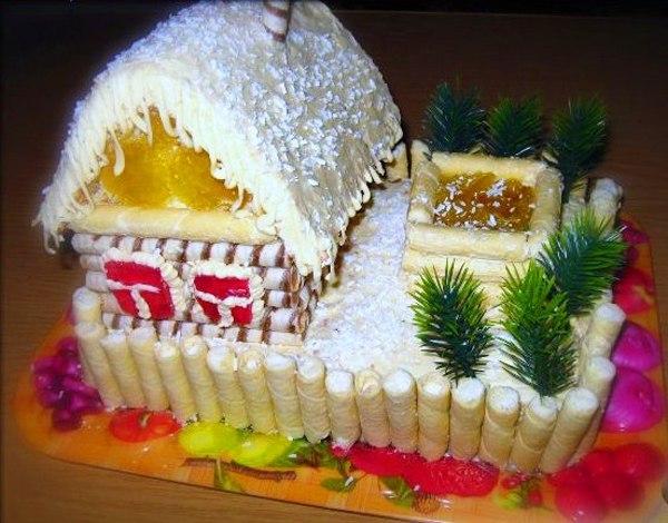 Фото подделки на новый гУкрашение для торта
