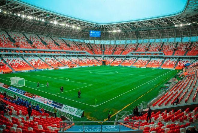 стадион мордовия арена панорамный вид