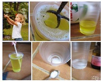 Как сделать мыльную воду