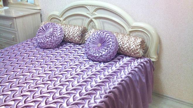Сшить покрывало и подушки