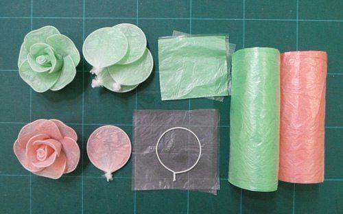 Поделки своими руками из целлофановых пакетов
