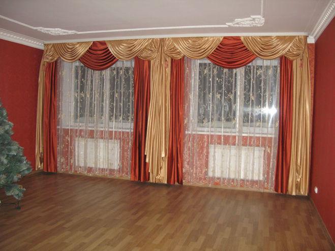 Как выбрать карниз для штор в зал