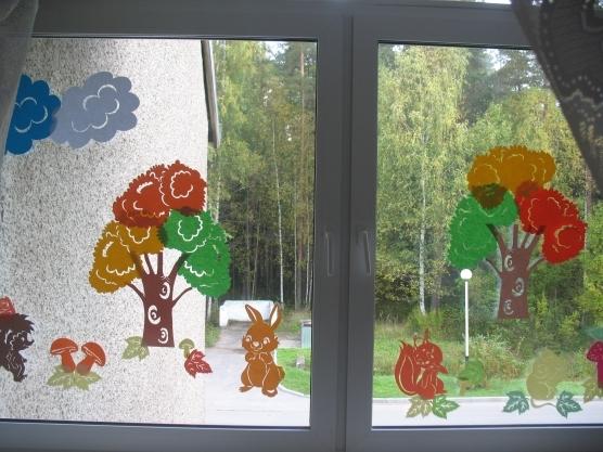Картинки для вытынанки осень