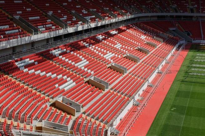 стадион спартак схема мест и секторов с рядами