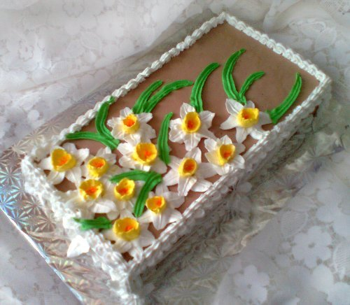 торт краски весны