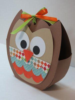 Поделка сова из коробки 32