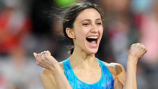 легкая атлетика, мария ласицкене, прыжки в высоту, золото на чемпионате мира 2017 в Лондоне