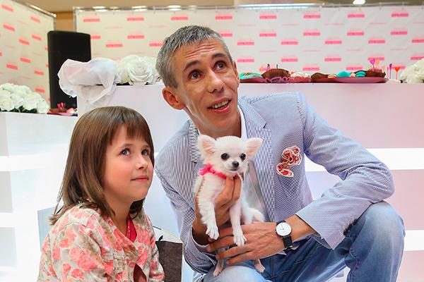 У Алексея Панина есть домашние животные? Кто и как зовут?