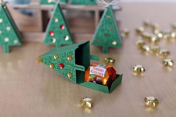 Коробочки на елку фото