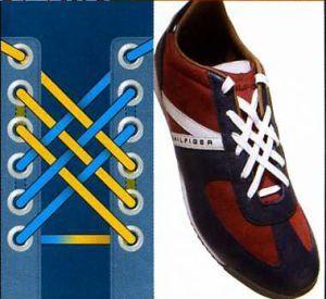 Как красиво зашнуровать обувь - BatHar