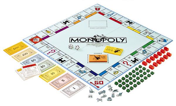 Своими руками поле для монополии