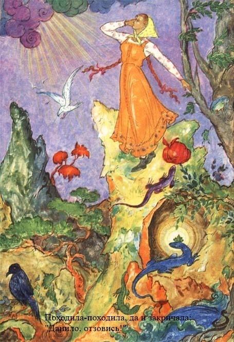 Бажов каменный цветок главная мысль для читательского дневника