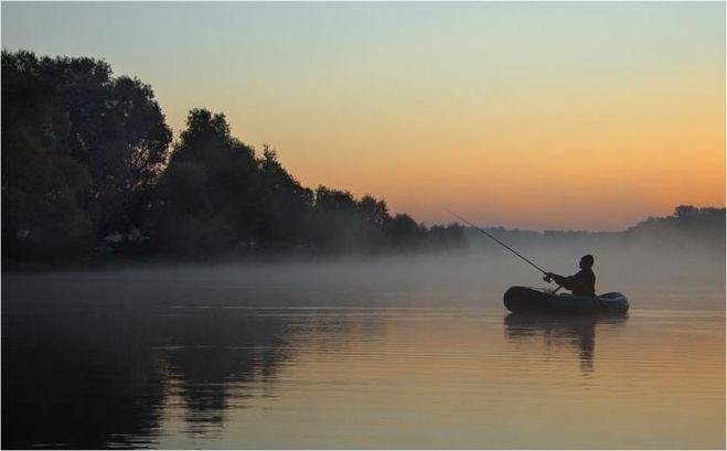 на рыбалку река хорошем качестве