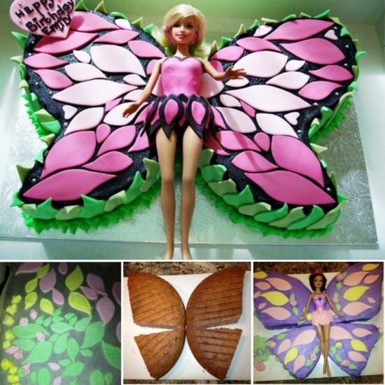 как сделать торт кукла барби фото
