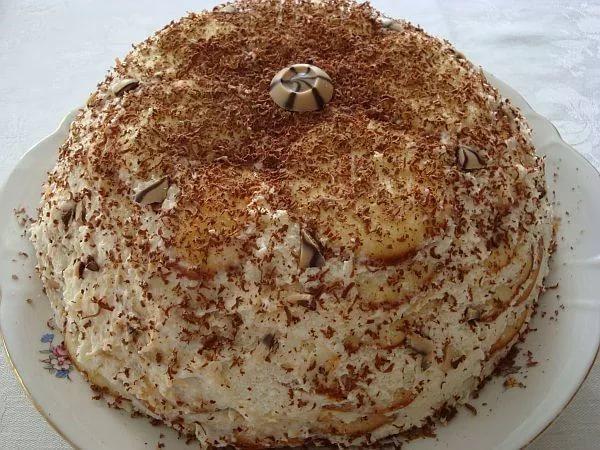 Рецепт торта опавшие листья