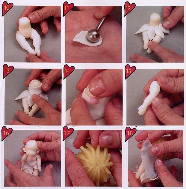 Изготовление фигурок из полимерной глины мастер класс
