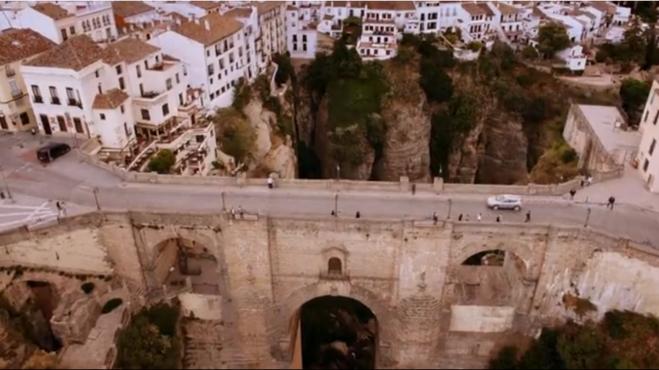 пропасть, мост