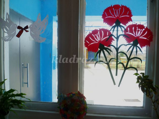 поделки к 9 мая, вытынанки День Победы, шаблоны вытынанок 9 Мая, трафареты для вырезания, как украсить окна на 9 мая