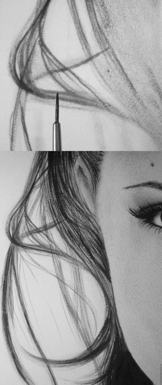 как нарисовать Анджелину Джоли4
