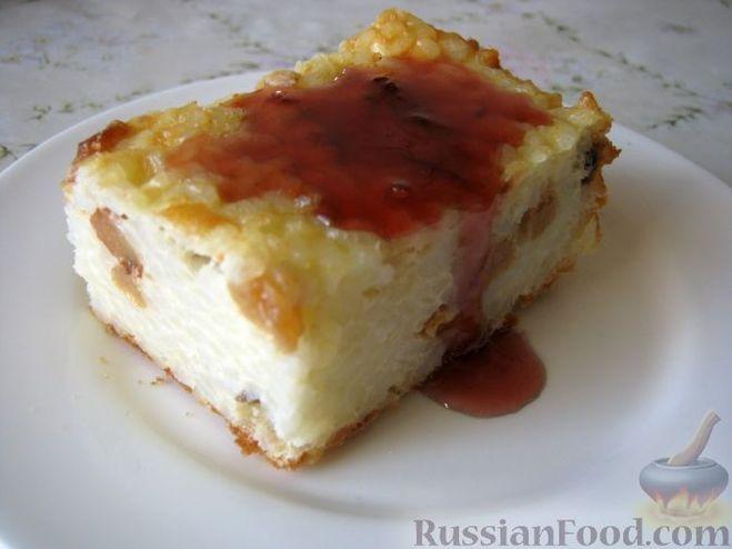 Рецепт рисовый пудинга