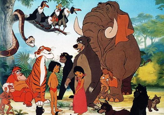 Как нарисовать сказку Маугли какрандашими красками поэтапно