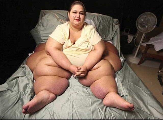 Похудела на 408 кг!