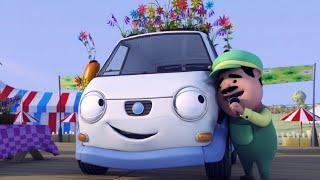 Как зовут всех героев из мультфильма Олли Веселый грузовичок ? Их имена?