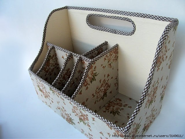 Шкатулки из обувных коробок