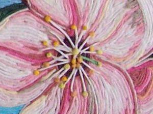 пейп-арт цветок