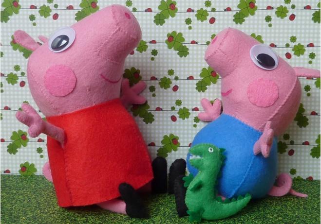 Свинка пеппа игрушки своими руками