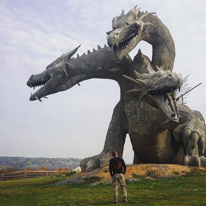 Змей Горыныч на Кудыкиной горе