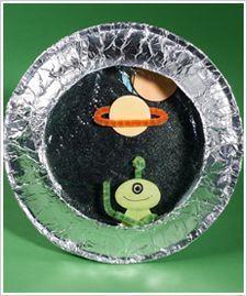 Инопланетная тарелка своими руками 89
