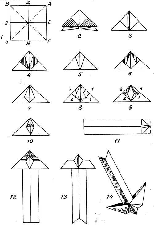 Как из тетрадного листа сделать самолет из бумаги