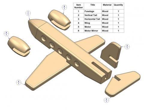 схема для самолета